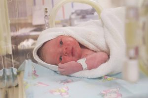 Birth Photography, Planned C-section birth